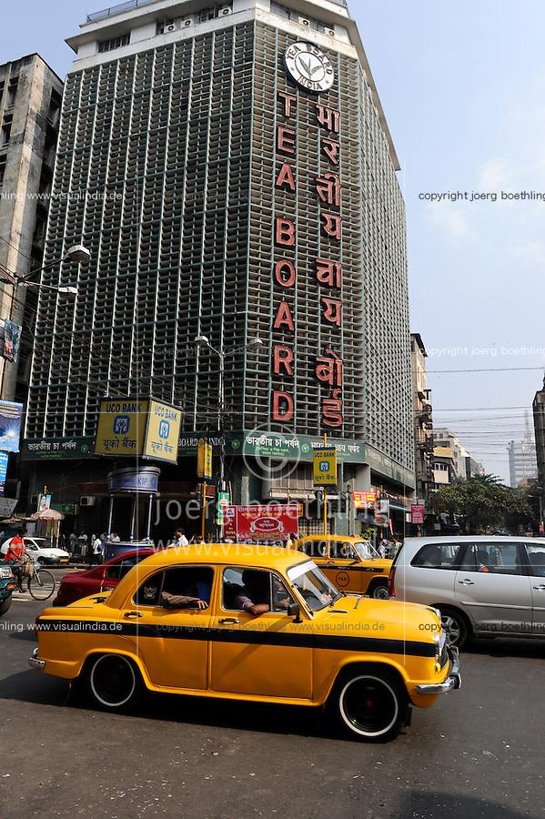 INDIA Westbengal, Kolkata, Tea Board, where Darjeeling and Assam tea is traded / INDIEN, Westbengalen, Kolkata, Tea Board