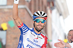 Thibaut Pinot (FRA) Groupama-FDJ at sign on before Stage 3 of the 2019 Tour de France running 215km from Binche, Belgium to Epernay, France. 8th July 2019.<br /> Picture: Colin Flockton | Cyclefile<br /> All photos usage must carry mandatory copyright credit (© Cyclefile | Colin Flockton)