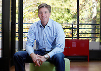 Darden trustee Edwin Hooper, Senior Vice President & Chief Strategy Officer, Center View Capital, at the University of Virginia in Charlottesville, VA. Photo/Andrew Shurtleff