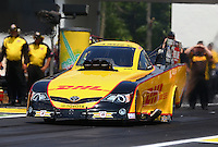 Jun. 2, 2013; Englishtown, NJ, USA: NHRA funny car driver Del Worsham during the Summer Nationals at Raceway Park. Mandatory Credit: Mark J. Rebilas-