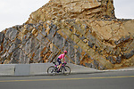 Lawson G Craddock (USA) EF Education-Nippo climbs the final 4km of Jais Mountain during Stage 5 of the 2021 UAE Tour running 170km from Fujairah to Jebel Jais, Ras Al Khaimah, UAE. 25th February 2021.  <br /> Picture: Eoin Clarke   Cyclefile<br /> <br /> All photos usage must carry mandatory copyright credit (© Cyclefile   Eoin Clarke)