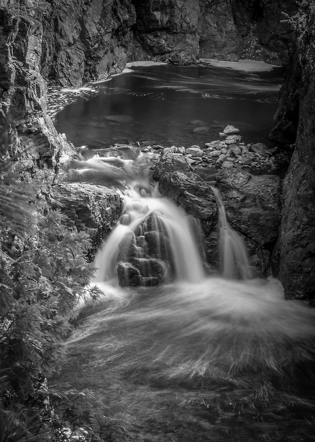 Copper Falls State Park near Mellen, Wisconsin