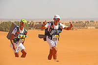 4th October 2021; Tisserdimine to Kourci Dial Zaid;  Marathon des Sables, stage 2 of  a six-day, 251 km ultramarathon, which is approximately the distance of six regular marathons. The longest single stage is 91 km long. This multiday race is held every year in southern Morocco, in the Sahara Desert. Ivo Lobo Morais (POR)