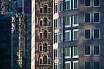 The financial district in Boston, MA, USA
