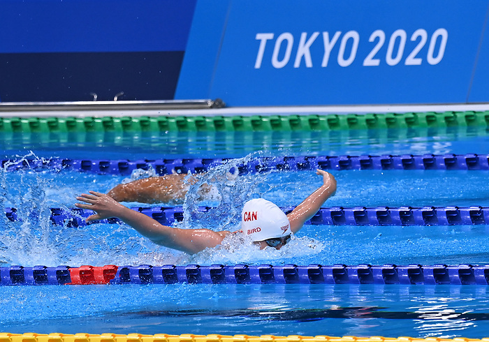 Morgan Bird, Tokyo 2020 - Para Swimming // Paranatation.<br /> Morgan Bird competes in the women's 100m butterfly // Morgan Bird participe au 100 m papillon femmes. 09/03/2021.