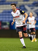 Bolton Wanderers' Shaun Miller looks on <br /> <br /> Photographer Andrew Kearns/CameraSport<br /> <br /> EFL Papa John's Trophy - Northern Section - Group C - Bolton Wanderers v Newcastle United U21 - Tuesday 17th November 2020 - University of Bolton Stadium - Bolton<br />  <br /> World Copyright © 2020 CameraSport. All rights reserved. 43 Linden Ave. Countesthorpe. Leicester. England. LE8 5PG - Tel: +44 (0) 116 277 4147 - admin@camerasport.com - www.camerasport.com
