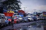 Traffic jam (Go slow) in Port Harcourt, Delta State, Nigeria