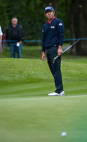 23.05.2015. Wentworth, England. BMW PGA Golf Championship. Round 3.  Byeong Hun An [KOR] watches the progress of a putt on the 4th green, during the third round of the 2015 BMW PGA Championship from The West Course Wentworth Golf Club