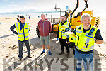 Members of Banna Sea Rescue helping with the Banna beach cleanup on Thursday evening. <br /> L to r: Pat Lawlor, Tom Fitzgerald, John Sheehan and Brian Crean (Banna Sea Rescue)