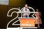 Presentation of Carlos MArques MArcet <br /> during Malaga Film Festival Gala at Teatro Cervantes.August 23 2020. (Alterphotos/Francis González)