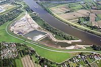 Kreetsand: EUROPA, DEUTSCHLAND, HAMBURG 29.08.2015:  Tideelbe Konzept Kreetsand, Hamburg Port Authority (HPA), soll auf der Ostseite der Elbinsel Wilhelmsburg zusaetzlichen Flutraum für die Elbe schaffen. Das Tidevolumen wird durch diese strombauliche Massnahme vergroessert und der Tidehub reduziert. Gleichzeitig ergeben sich neue Moeglichkeiten für eine integrative Planung und Umsetzung verschiedenster Interessen und Belange aus Hochwasserschutz, Hafennutzung, Wasserwirtschaft, Naturschutz und Naherholung.