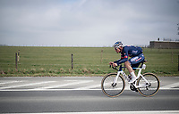 Silvan Dillier (SUI/Alpecin-Fenix)<br /> <br /> 76th Omloop Het Nieuwsblad 2021<br /> ME(1.UWT)<br /> 1 day race from Ghent to Ninove (BEL): 200km<br /> <br /> ©kramon
