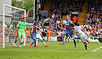 Pictured:<br /> Re: Premier League match between Crystal Palace and Swansea City at Selhurst Park on Sunday 24 May 2015 in London, England, UK