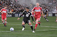 DC United  forward Jaime Moreno (99)   Chicago Fire tied DC United 1-1 at  RFK Stadium, Saturday March 28, 2009.