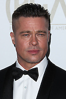 BEVERLY HILLS, CA - JANUARY 19: Actor Brad Pitt arrives at the 25th Annual Producers Guild Awards held at The Beverly Hilton Hotel on January 19, 2014 in Beverly Hills, California. (Photo by Xavier Collin/Celebrity Monitor)