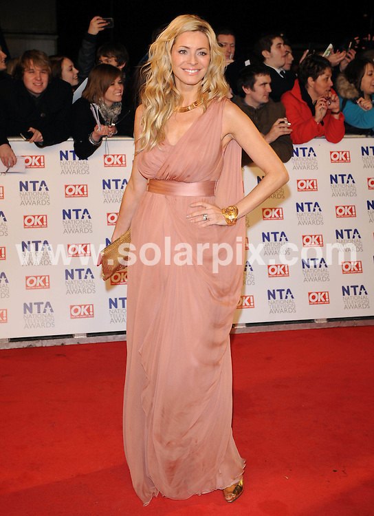 **ALL ROUND PICTURES FROM SOLARPIX.COM**                                             **WORLDWIDE SYNDICATION RIGHTS**                                                                                  Caption: Red carpet arrivals at the National Television Awards 2011.  Held at the 02, Greenwich Peninsula, London, UK. January 26, 2011.                                                                              This pic: Tess Daly                                                                               JOB REF: 12717 SSD       DATE: 26_01_2011                                                           **MUST CREDIT SOLARPIX.COM OR DOUBLE FEE WILL BE CHARGED**                                                                      **MUST AGREE FEE BEFORE ONLINE USAGE**                               **CALL US ON: +34 952 811 768 or LOW RATE FROM UK 0844 617 7637**