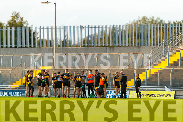 The Dr Crokes team during the Kerry County Senior Football Championship Semi-Final match between Mid Kerry and Dr Crokes at Austin Stack Park in Tralee, Kerry.