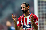 Juan Francisco Torres Belen, Juanfran, of Atletico de Madrid reacts during their International Champions Cup Europe 2018 match between Atletico de Madrid and FC Internazionale at Wanda Metropolitano on 11 August 2018, in Madrid, Spain. Photo by Diego Souto / Power Sport Images