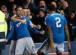 Nicky Clark celebrates his goal