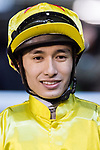 Jockey #2 Alvin Ng Ka-chun riding California Aspar celebrates after winning race 3 during Hong Kong Racing at Happy Valley Race Course on November 22, 2017 in Hong Kong, Hong Kong. Photo by Marcio Rodrigo Machado / Power Sport Images