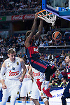 Bayern Munich´s player Thompson during the 4th match of the Turkish Airlines Euroleague at Barclaycard Center in Madrid, Spain, November 05, 2015. <br /> (ALTERPHOTOS/BorjaB.Hojas)