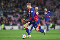 Frankie de Jong<br /> 07/12/2019 <br /> Barcelona - Maiorca<br /> Calcio La Liga 2019/2020 <br /> Photo Paco Largo Panoramic/insidefoto <br /> ITALY ONLY