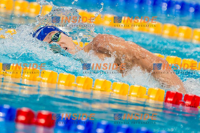 GUY James GBR<br /> 400 Freestyle Men Final Silver Medal<br /> Swimming Kazan Arena<br /> Day10 02/08/2015<br /> XVI FINA World Championships Aquatics Swimming<br /> Kazan Tatarstan RUS July 24 - Aug. 9 2015 <br /> Photo A.Masini/Deepbluemedia/Insidefoto