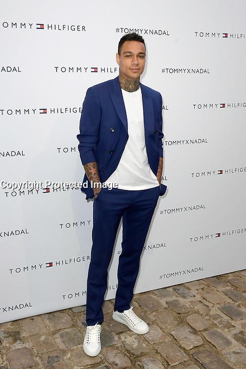 Gregory VAN DER WIEL - Tommy X Nadal Event - Tommy Hilfinger - Paris 18 mai 2016 - FRANCE