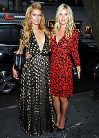 NEW YORK CITY, NY, USA - SEPTEMBER 09: Paris Hilton and Nicky Hilton pose at the Nicky Hilton '365 Style' Book Signing - Nicky Hilton in Conversation with Paris Hilton held at Barnes & Noble - 86th & Lexington Avenue on September 9, 2014 in New York City, New York, United States. (Photo by Celebrity Monitor)