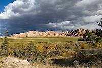 Falls Colors near Dubois, Wyoming