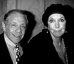 Anne Meara and Jerry Stiller attend the Drama League Awards<br /> at the Plaza Hotel, on May 1, 1996 in New York City.