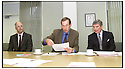 15TH AUGUST 99                      Copyright Pic : James Stewart .Ref : 990322                          .File Name : stewart05-FVHB PRESS CONFERENCE                        .DR MALCOLM MCWHIRTER, DIRECTOR AT PUBLIC HEALTH, EWAN BELL SCOTT, CHAIRMAN FVHB AND DAVID HIRD, GENERAL MANAGER FVHB, AT THE SMEAR TESTING PRESS CONFERENCE IN STIRLING.....Payments to :-.James Stewart Photo Agency, Stewart House, Stewart Road, Falkirk. FK2 7AS      Vat Reg No. 607 6932 25.Office : 01324 630007        Mobile : 0421 416997.E-mail : JSpics@aol.com.If you require further information then contact Jim Stewart on any of the numbers above.........