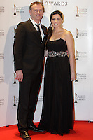12/2/11 Daithi O Se and girlfriend Rita Taltyon the red carpet at the 8th Irish Film and Television Awards at the Convention centre in Dublin. Picture:Arthur Carron/Collins