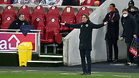 Brentford Manager, Thomas Frank during Brentford vs Luton Town, Sky Bet EFL Championship Football at the Brentford Community Stadium on 20th January 2021