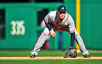 25 September 2010: Atlanta Braves infielder Freddie Freeman in action against the Washington Nationals at Nationals Park in Washington, DC. The Braves shut out the Nationals 5-0 to even their 3-game series at one win apiece. The Braves' victory was the 2500th career win for skipper Bobby Cox. Cox will retire at the end of the 2010 season, crowning a 29-year managerial career. Mandatory Credit: Ed Wolfstein Photo