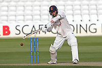 Tom Westley in batting action for Essex during Essex CCC vs Worcestershire CCC, LV Insurance County Championship Group 1 Cricket at The Cloudfm County Ground on 9th April 2021