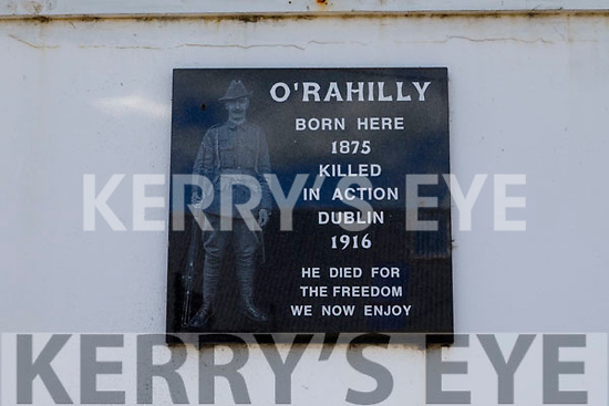 The outside of the Rahilly's home place in Ballylongford on Tuesday.