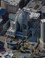aerial photograph of the San Diego Public Library, Balboa Park, San Diego, California