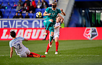 Harrison, N.J. - Sunday March 04, 2018: Verena Faißt, Bronze during a 2018 SheBelieves Cup match between the women's national teams of the Germany (GER) and England (ENG) at Red Bull Arena.