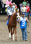 """Oilisblackgold in the San Diego Handicap """"Win and You're In Dirt Mile Division"""" at Del Mar Thoroughbred Club in Del Mar, CA.  July 24, 2011"""