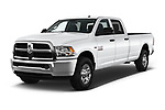 2018 Ram Ram 2500 Pickup Tradesman 4wd Crew Cab LWB 4 Door Pick Up angular front stock photos of front three quarter view