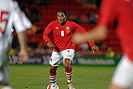 Wales' Ashley Williams during the International Friendly between Wales and Luxembourg at Parc y Scarlets in LLanelli..