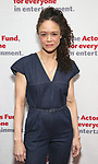 Amber Gray attends The Actors Fund Annual Gala at Marriott Marquis on April 29, 2019  in New York City.