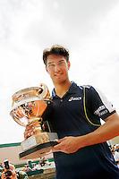 13-7-08, Scheveningen, ITS, Tennis Siemens Open 2008,  Jesse Huta Galung winnaar