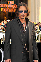 Johnny Depp at the premiere of Warner Bros. Pictures' 'Dark Shadows' at Grauman's Chinese Theatre on May 7, 2012 in Hollywood, California. ©mpi35/MediaPunch Inc.