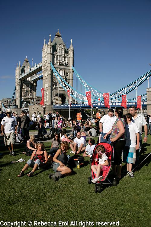 Turkish Festival in Potter's Field Park, London, UK