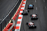 6th June 2021; F1 Grand Prix of Azerbaijan, Race Day;  07 RAIKKONEN Kimi (fin), Alfa Romeo Racing ORLEN C41, 99 GIOVINAZZI Antonio (ita), Alfa Romeo Racing ORLEN C41 during the Formula 1 Azerbaijan Grand Prix 2021 at the Baku City Circuit