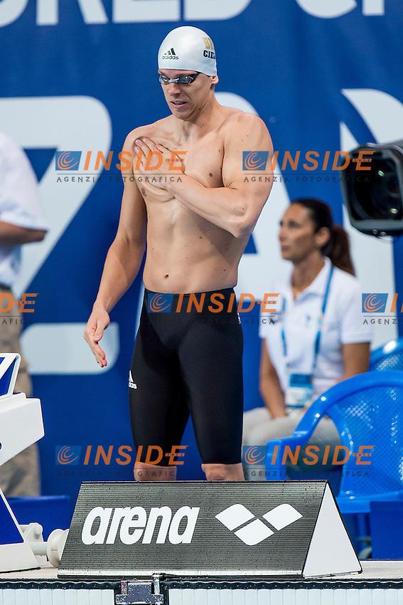 CIELO FILHO Cesar BRA<br /> 50 Butterfly Men Heats<br /> Swimming - Kazan Arena<br /> Day10 02/08/2015<br /> XVI FINA World Championships Aquatics Swimming<br /> Kazan Tatarstan RUS July 24 - Aug. 9 2015 <br /> Photo A.Masini/Deepbluemedia/Insidefoto