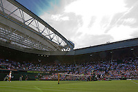 England, London, June 29, 2015, Tennis, Wimbledon, Centercourt<br /> Photo: Tennisimages/Henk Koster