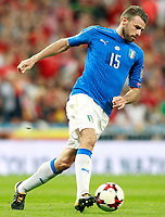 Italy's Andrea Barzagli during FIFA World Cup 2018 Qualifying Round match. September 2,2017.(ALTERPHOTOS/Acero)